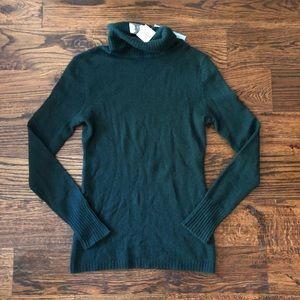 Antonio Melani Green 100% Cashmere Sweater XS NWT